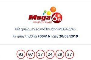 Xổ số Vietlott: Đã có người 'ẵm' giải Jackpot Mega 6/45 hơn 16 tỷ ngày hôm qua?