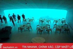 Chiêm ngưỡng nhà hàng dưới nước đầu tiên ở châu Âu