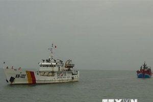 Bồi thường cho ngư dân Việt Nam bị tàu hải cảnh Trung Quốc xua đuổi