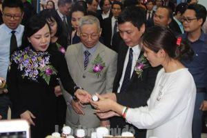 120 gian hàng tham dự Hội chợ dược liệu và sản phẩm y dược cổ truyền toàn quốc