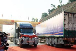 Thông xe tuyến đường vận tải Tân Thanh– Pò Chài (Trung Quốc)