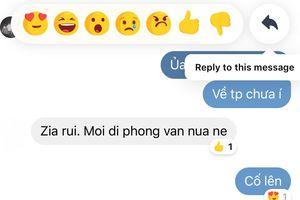 Facebook Messenger bổ sung tính năng mới cực hay, tha hồ mà trả lời từng người trong nhóm chat