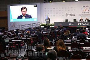 Việt Nam có bài phát biểu quan trọng trong phiên họp hợp tác Nam-Nam