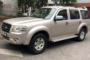 Giá xe Ford Everest 2009 là bao nhiêu sau 10 năm sử dụng?