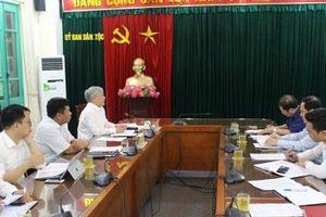 Bộ trưởng, Chủ nhiệm Đỗ Văn Chiến làm việc với Ủy ban nhân dân tỉnh Lào Cai
