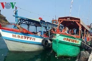 Kiên Giang cứu kịp thời 8 ngư dân gặp nạn trên biển