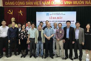 Ra mắt Chi hội nhà báo Văn phòng đại diện - Cơ quan thường trú tại Hà Nội