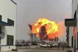 Trung Quốc: Nổ lớn ở nhà máy hóa chất, nhiều người bị thương