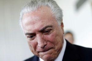 Cựu Tổng thống Brazil Michel Temer bị bắt giữ