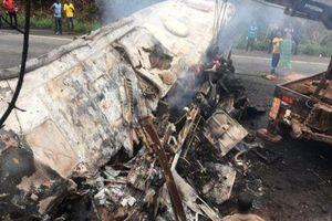 60 người thiệt mạng trong vụ đấu đầu xe buýt thảm khốc ở Ghana