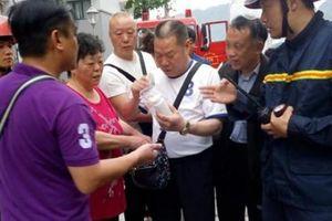 Giải cứu 5 khách du lịch Trung Quốc trong vụ cháy khách sạn ở Hạ Long