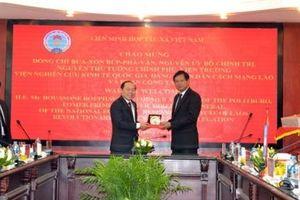 Việt Nam và Lào góp phần thúc đẩy phát triển khu vực