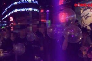 Hà Nội: 'Bóng cười' công khai bán tràn lan tại chuỗi cơ sở 'BALL BAR'