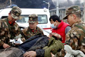 Nổ lớn ở nhà máy hóa chất Trung Quốc, 47 người thiệt mạng