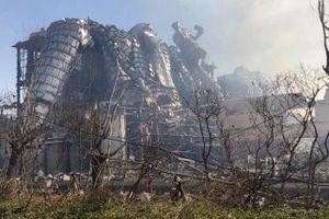 134 người thương vong trong vụ nổ nhà máy hóa chất Trung Quốc
