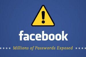 Facebook lưu hàng trăm triệu mật khẩu không mã hóa