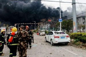 Nổ nhà máy hóa chất ở Trung Quốc, ít nhất 47 người thiệt mạng