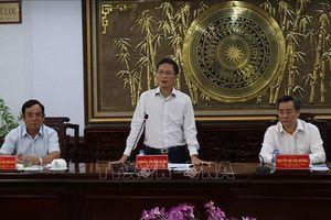Bạc Liêu đề nghị Bộ Công Thương hỗ trợ dự án phát triển năng lượng điện