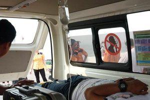 Vượt biển thâu đêm cứu thuyền viên nước ngoài bị nạn ở Hoàng Sa