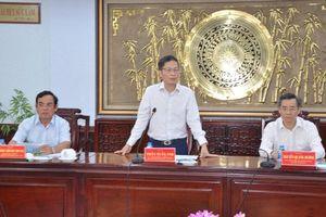 Bộ Công Thương sẽ hỗ trợ để Bạc Liêu trở thành tỉnh khá trong khu vực
