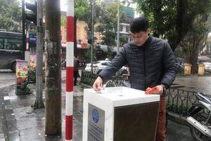 Hữu ích từ những trụ nước sạch uống tại vòi ở Hà Nội