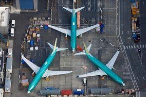 Dàn máy bay 737 MAX tại nhà máy Boeing nhìn từ trên không