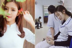 Nữ sinh Việt được báo Trung ca ngợi vì ảnh ngủ gật cực xinh