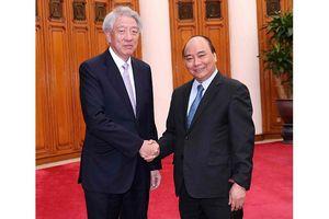 Thủ tướng Nguyễn Xuân Phúc tiếp Phó Thủ tướng Singapore; Chủ tịch Tổ chức Hỗ trợ đại học thế giới Ðức