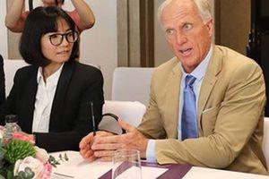Huyền thoại golf Greg Norman muốn phát triển thương hiệu du lịch golf Việt Nam
