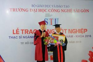 STU trao bằng tốt nghiệp thạc sĩ cho các học viên ngành Công nghệ Thực phẩm khóa 1