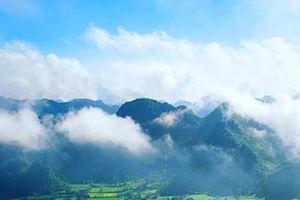 Săn mây ở 'nóc nhà xứ Mường' Lũng Vân