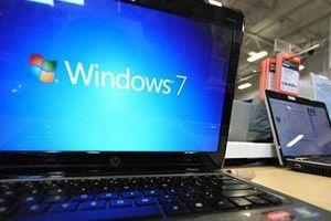 Microsoft sắp ngừng hỗ trợ hệ điều hành Windows 7