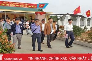 Về nơi có phong trào xây dựng khu dân cư kiểu mẫu rầm rộ nhất Hà Tĩnh