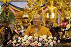 Bất bình, 40 tăng ni chùa Ba Vàng xin xuất chúng bỏ đi