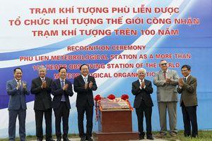 Đài Khí tượng Phù Liễn được gắn biển công nhận Trạm Khí tượng trên 100 năm tuổi