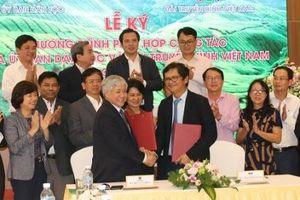 Ủy ban Dân tộc và Đài Truyền hình Việt Nam kí kết Chương trình phối hợp công tác giai đoạn 2019-2021