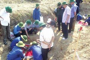 Quy tập thêm nhiều hài cốt liệt sĩ Việt Nam hy sinh tại Lào