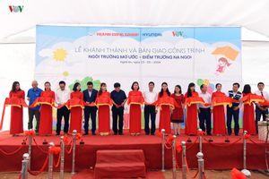 Báo điện tử VOV, Hyundai Thành Công khánh thành điểm trường ở Nghệ An