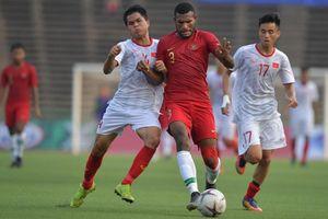 Clip: Marinus Wanewar - Tiền đạo 'lắm chiêu' của U23 Indonesia
