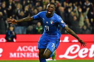 Tiền đạo sinh năm 2000 giúp Italy giành 3 điểm ở vòng loại Euro