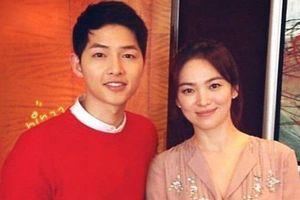 Song Joong Ki đăng ảnh tình cảm với Song Hye Kyo sau tin ngoại tình?