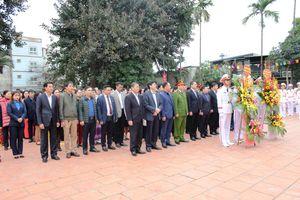 Kỷ niệm 60 năm ngày Bác Hồ về thăm Định Công