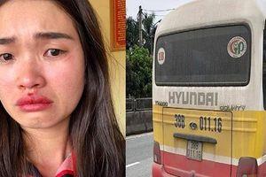 Vụ xe buýt 'dù' giật tóc, đánh chảy máu mũi cô gái: Khởi tố vợ chồng chủ xe