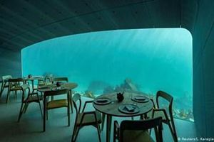 Nhà hàng dưới biển đầu tiên của châu Âu