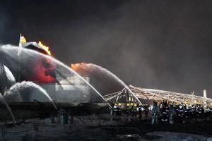 Kinh hoàng vụ nổ nhà máy hóa chất ở Trung Quốc