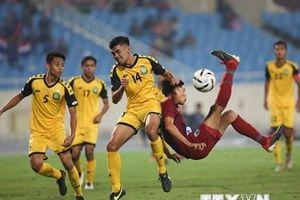 Hình ảnh U23 Thái Lan 'hủy diệt' U23 Brunei với 8 bàn thắng