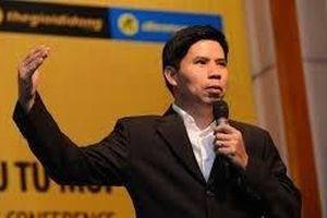 Vì sao ông Nguyễn Đức Tài thôi ghế Tổng giám đốc Thế Giới Di Động?