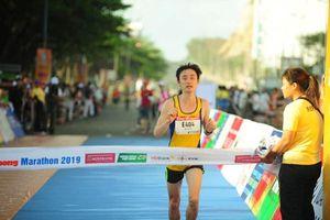 Xác định các nhà vô địch Giải Việt dã và Marathon toàn quốc Báo Tiền Phong
