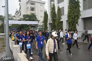 Hơn 1.000 học sinh trải nghiệm chương trình 'Một ngày làm sinh viên'