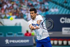 Miami Open Masters: Djokovic đánh chắc, tiến chắc
